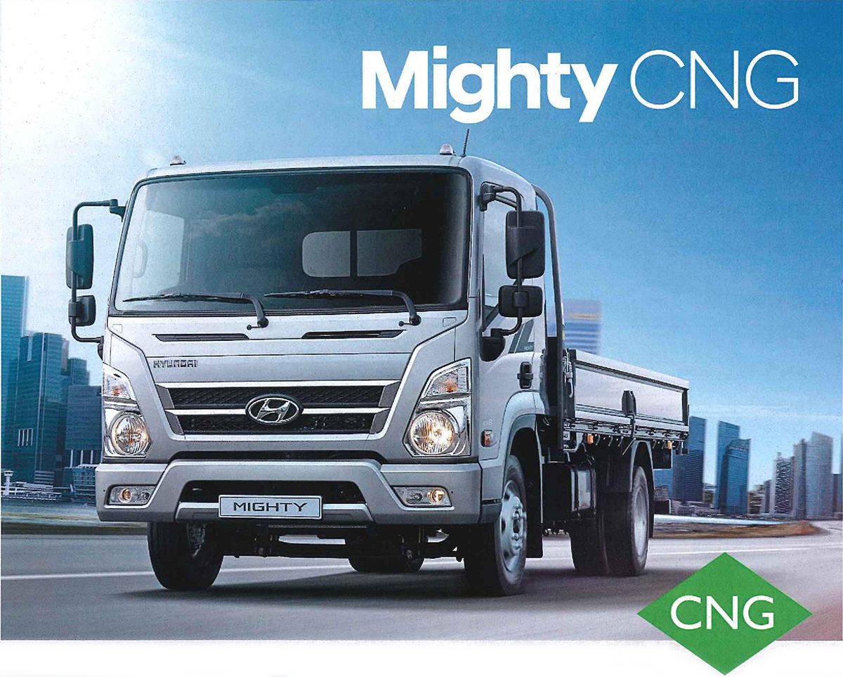 Hyundai Might CNG Truck